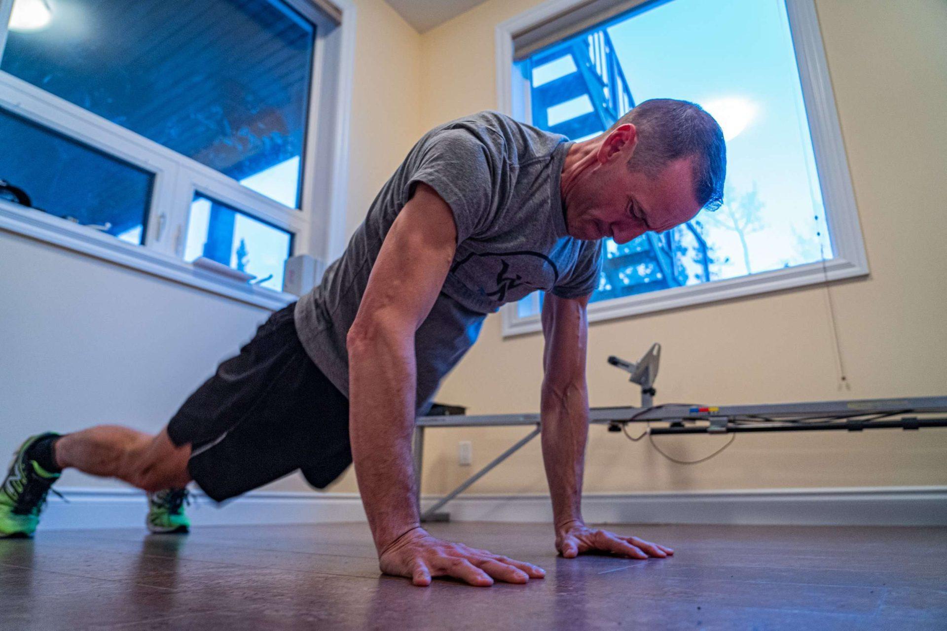 Bodyweight circuit workout