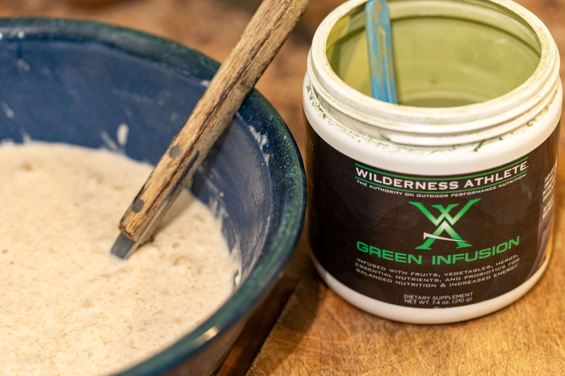 Greens Powders Pancakes